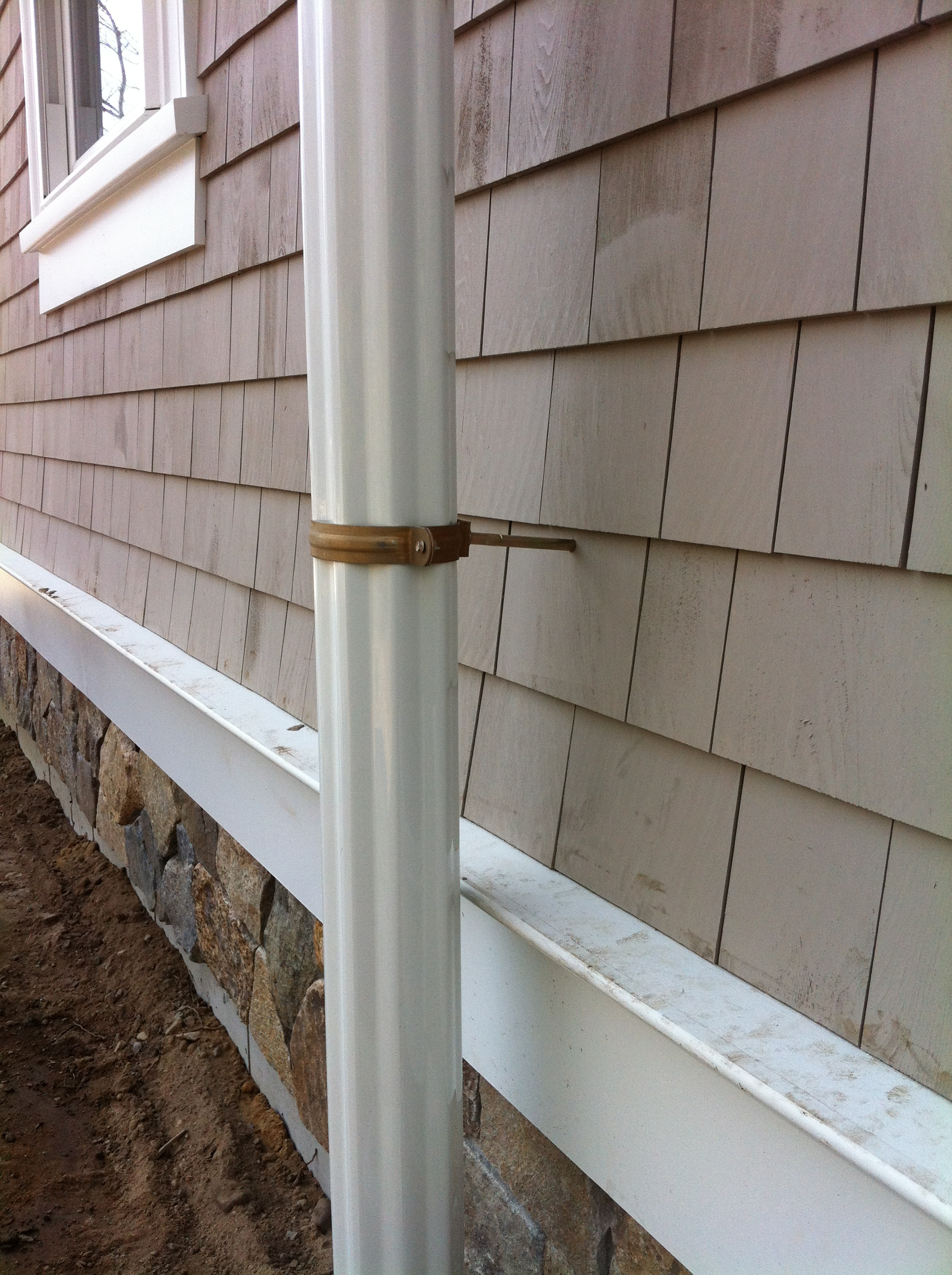 Half Round Gutter System Installed By Gutter Pro New