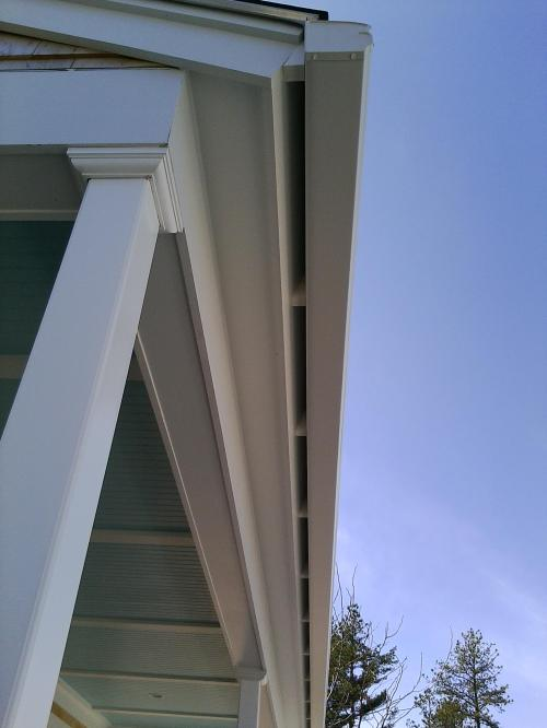 Gutter Installation On Angled Fascia By Gutter Pro