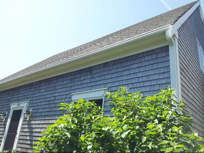 LeafGuard Gutter Installed Eastham MA