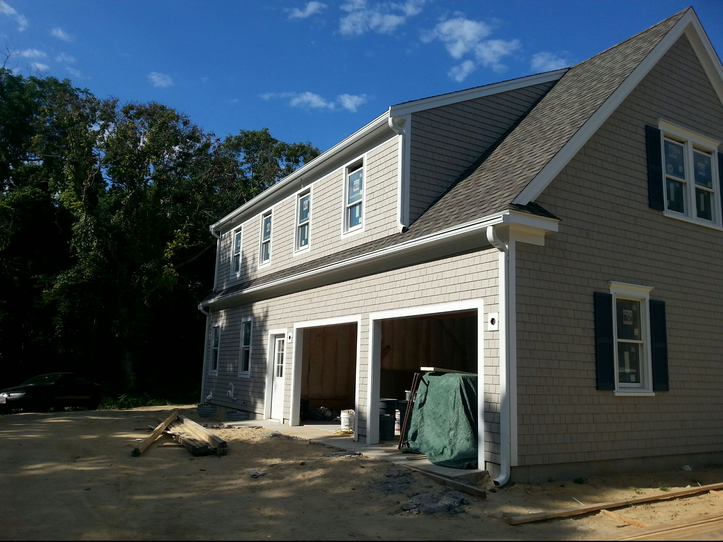 gutter guard cape cod Gutter Pro on the job in Massachusetts and