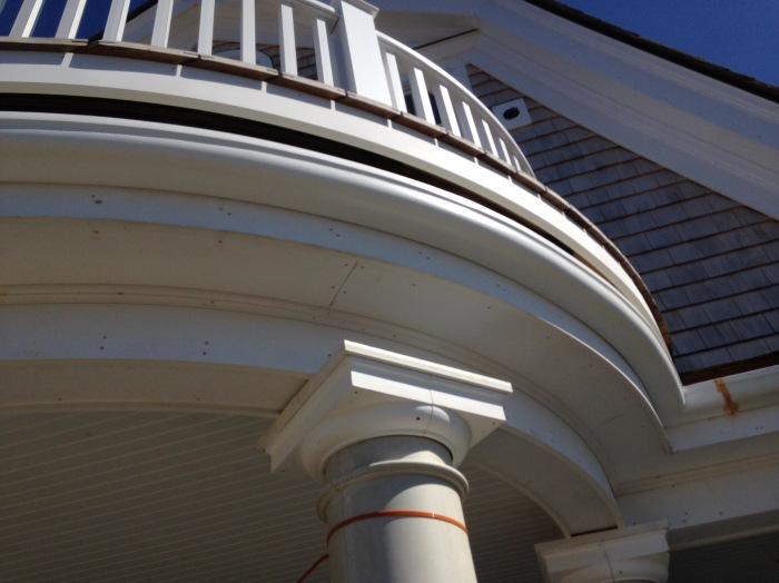 Wood Replacement Radius Gutter Cape Cod