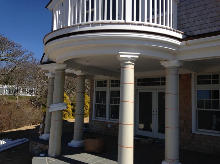 Wood Replacement Radius Gutter Chatham