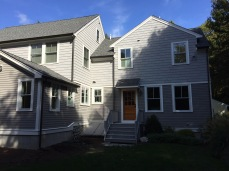 bronze gutter and downspout wellesley