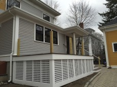 Fiberglass Gutter installation massachusetts